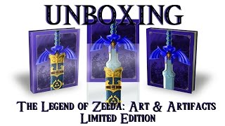 Unboxing - The Legend of Zelda: Art and Artifacts - Limited Edition