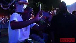 jay z enjoys deadmau5 perform at made in america festival 2013