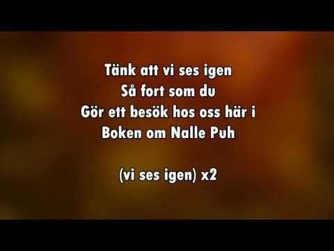 Boken om Nalle Puh (karaoke - lyrics)