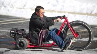 Велосипед для дрифта - трайк Big Wheel Drift Trike