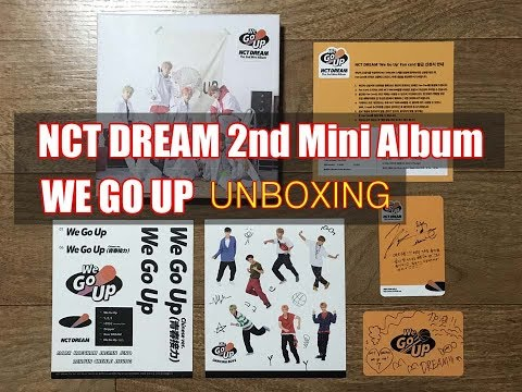 NCT DREAM - WE GO UP 2ND 미니앨범 개봉 후기