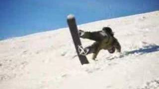 Silly Snowboarding Trick