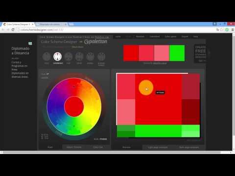Software para combinar colores youtube - Colores para combinar ...