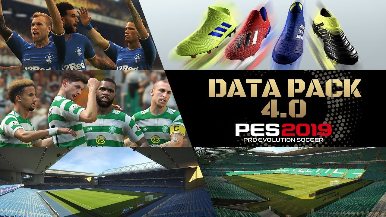 PES 2019 Data Pack 4 Available Now - Adds Celtic Park and