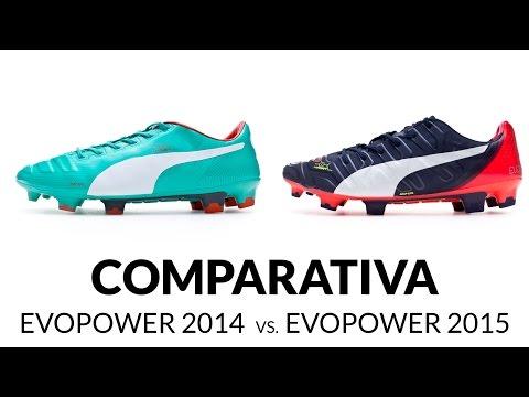 Comparativa Puma evoPOWER // Modelo 2014 vs. Modelo 2015