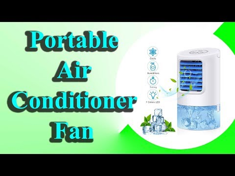 portable-air-conditioner-fan-|-personal-desk-fan-space-air-cooler-mini-table-evaporative-ac