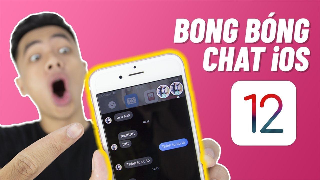 Cách mở/bật bong bóng chat Mesenger trên iPhone iOS 12