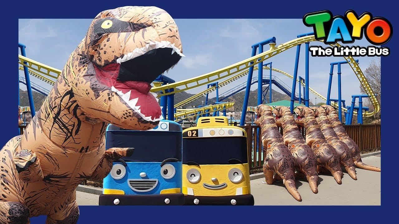 Tyrannosaurus Rex Song | Tayo Dinosaur Song | Song for Children