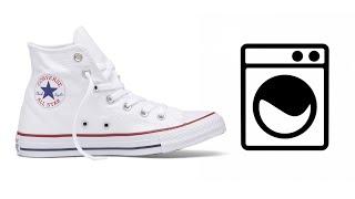 Как стирать кеды (кроссовки) в стиральной машинке?(Отвечаю на частый вопрос: можно ли стирать кеды или кроссовки в стиральной машинке и если да, то как это..., 2015-04-23T21:08:20.000Z)