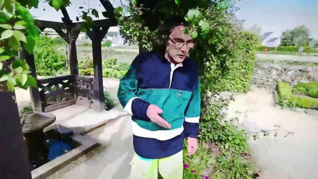 Jardin du Prieuré - Locmaria - Quimper - Vidéo d\'un Jardin Remarquable 2013  du Finistère
