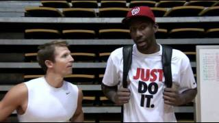 What does Amar'e Stoudemire say about Ganon Baker Basketball?
