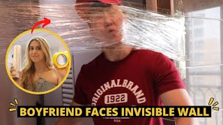 [AMWF] Invisible Wall Challenge on Clueless Korean Boyfriend