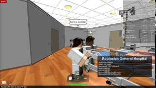 ROBLOX RGH Work Shift #1!!