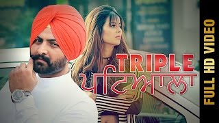 TRIPLE PATIALA (Full Video) | Harjiwan Singh Ft. AKS | Molina Sodhi | Latest Punjabi Songs 2017