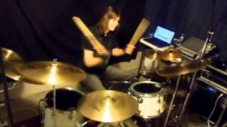 Three Days Grace World So Cold drum cover
