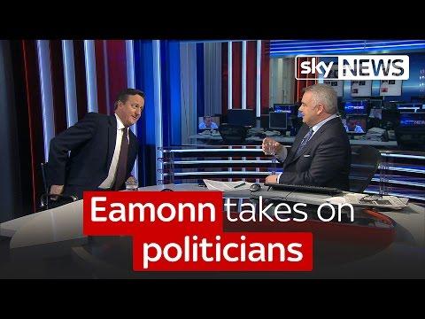 Eamonn takes on politicians