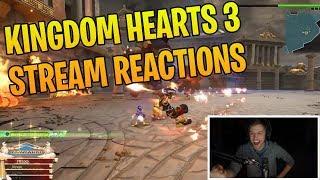 Sodapoppin Plays Kingdom Hearts 3 | Streamers React - Kingdom Hearts 3 Clips & Highlights