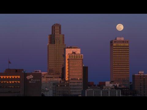 Omaha Timelapse 4k