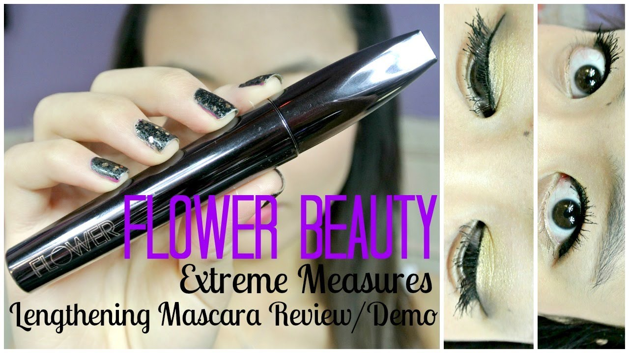Mmm new flower beauty extreme measures lengthening mascara review mmm new flower beauty extreme measures lengthening mascara reviewdemo izmirmasajfo