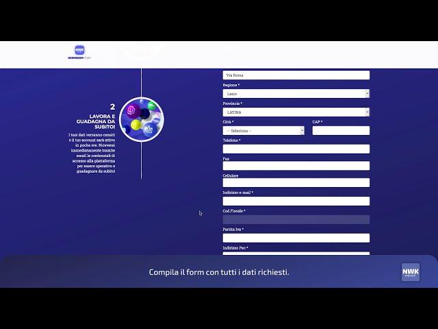 NWK point - Crea un Digital Merchant Profile - 01