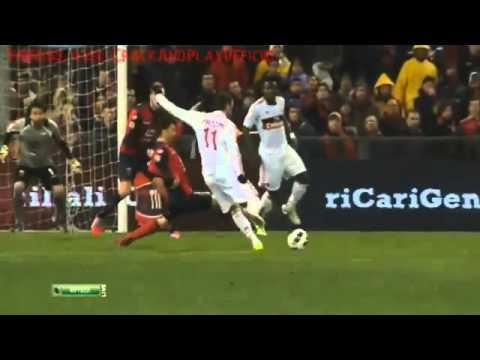 Genoa vs AC Milan 0-1 GIAMPAOLO PAZZINI GOAL (08.03.2013) NO FAKE!