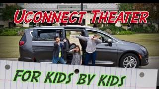 Chrysler Pacifica Uconnect Theater - DrivesWGirls