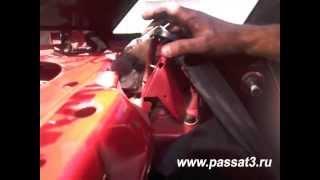 Видео замена задних амортизаторов Фольксваген Пассат - установка заднего амортизатора.