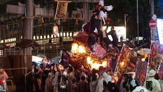 令和元年 市町 宮入 宮前 平野郷杭全神社夏祭り だんじり祭り