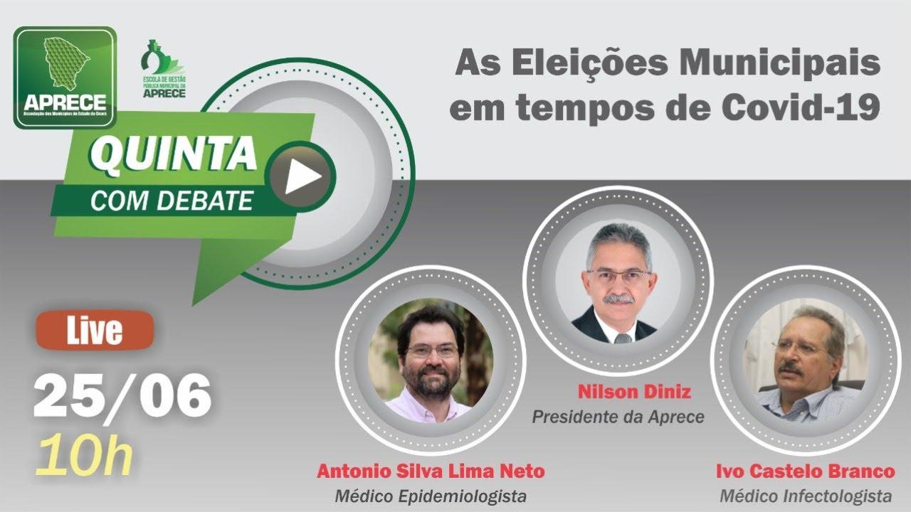 QUINTA COM DEBATE: As Eleições Municipais em Tempos de Covid-19 ...