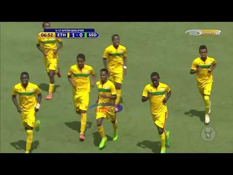 HIGHLIGHTS: ETHIOPIA 51 SOUTH SUDAN CECAFA U17 AFCON QUALIFIER