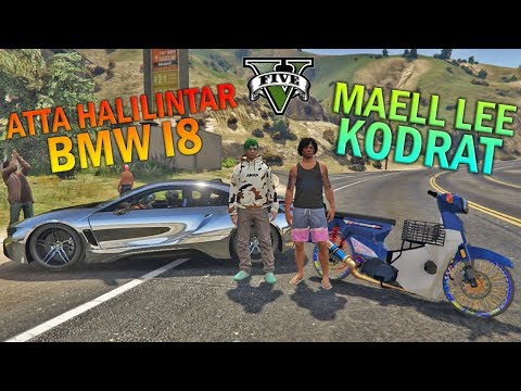 BALAP LIAR!! Atta BMW VS Maell Lee SI KODRAT - GTA 5 YOUTUBER PARODY