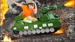 قصص عن مهن الأطفال والسيارات من قناة Super Senya