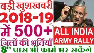 indian army bharti training