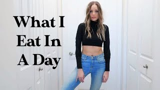 What I Eat In A Day | healthy & realistic