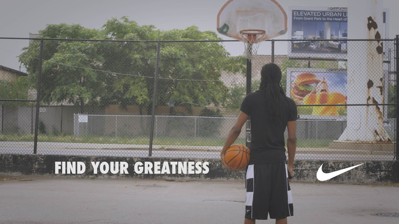 Find Your Greatness Nike Youtube