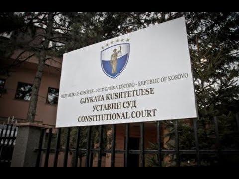 Gjykata Kushtetuese kremton 8 vjetorin e themelimit (Drejtpërdrejt)