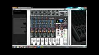 Recording using Behringer Xenyx X1204USB on Cubase