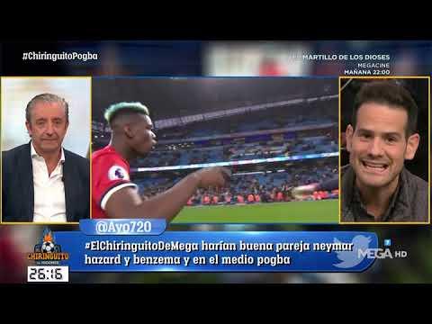 """Quim: """"Me FASTIDIARÍA MUCHO que POGBA FICHASE por el Real Madrid"""""""