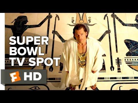 "Gods of Egypt ""War"" Super Bowl TV SPOT (2016) - Nikolaj Coster-Waldau, Brenton Thwaites Movie HD"