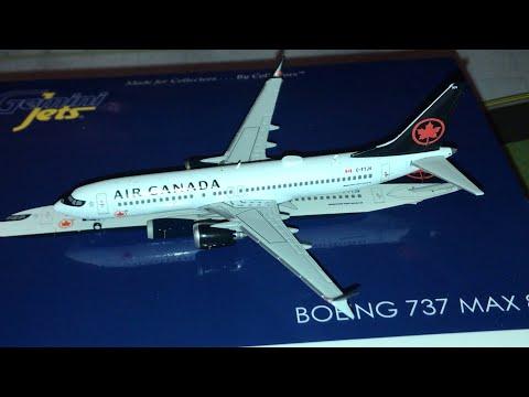 Unboxing Gemini Jets Air Canada 737 Max8