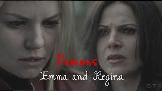 demons || emma & regina