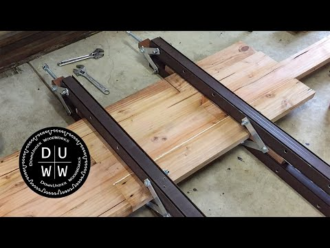 Upgrades to the DIY homemade double bar clamps