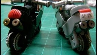Мотоцикл из зажигалок(подробная инструкция)