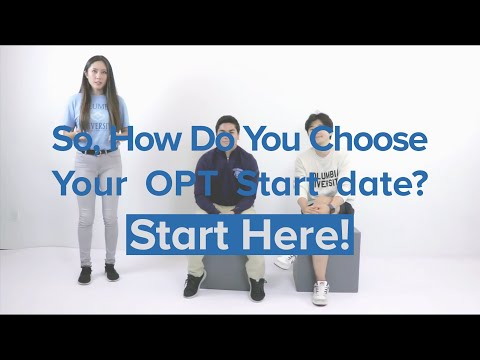 Ask The Alums: Choosing Your OPT Start Date