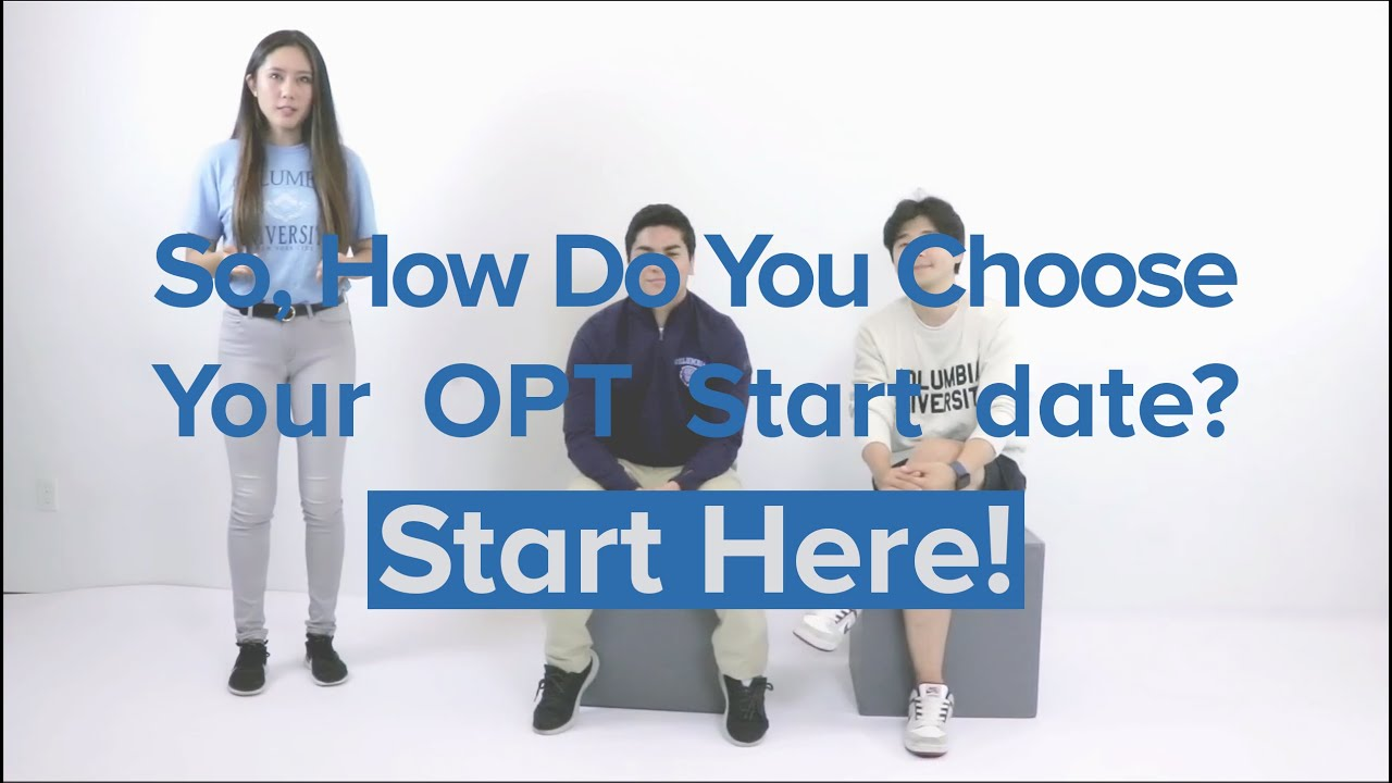 F-1 OPT (Optional Practical Training) After Your Degree Program | ISSO