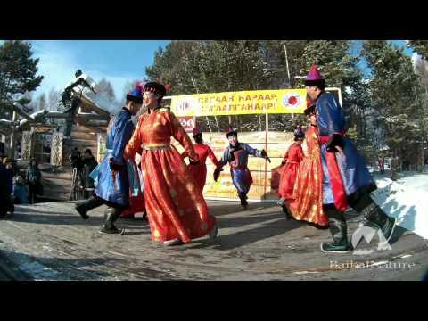 """Buryat National Dance """"Yekhor"""" / Бурятский национальный танец Ехор"""