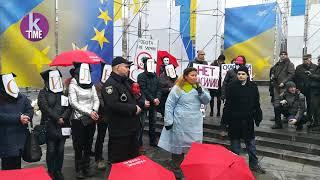 На Майдан вышли протестовать секс-работники