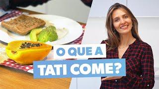 O que como em um dia · Tatiana Zanin