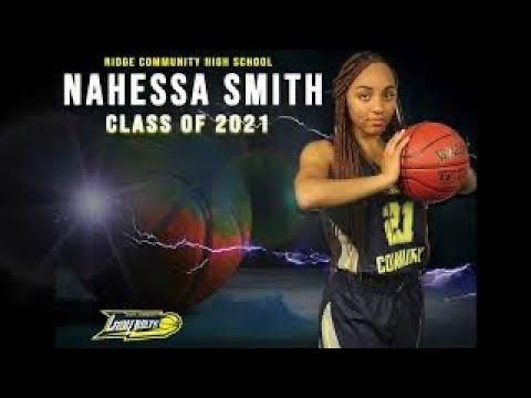 #21 Nahessa Smith Highlight 19- 20- Ridge Community High School, Lady Bolts Basketball.