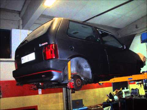 Fiat Uno Turbo IE racing restauro parte 2